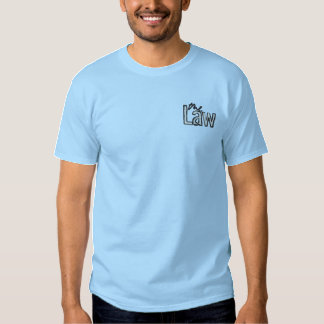 The Law - Embroidered - T-Shirt (Blue)