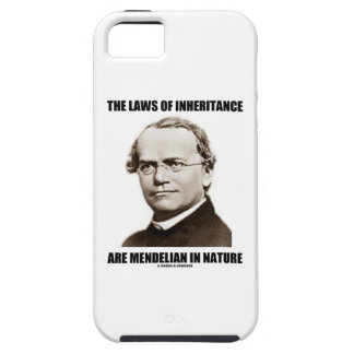 The Laws Of Inheritance Are Mendelian In Nature Case For iPhone 5/5S