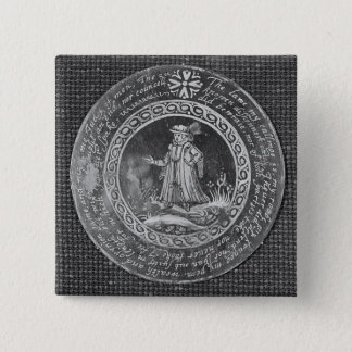 The Lawyer 15 Cm Square Badge