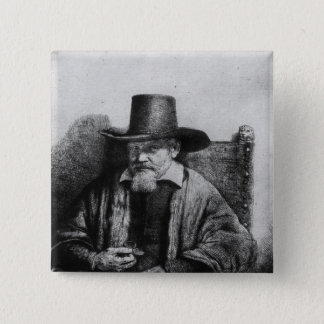 The Lawyer Tolling 15 Cm Square Badge
