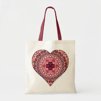 The Layers of the Heart Light Tote Bag