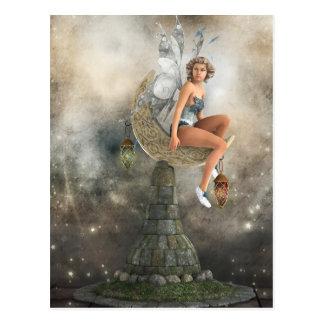 The Lazy Moon Fairy Postcard