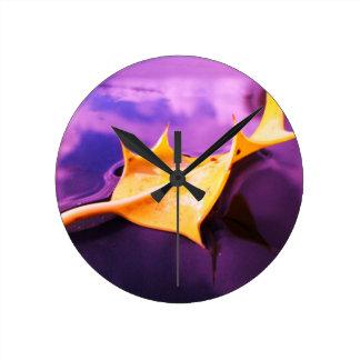THE LEAF medium sized wall clock