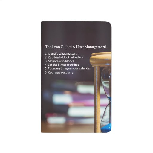 The Lean Guide to Time Management Journal