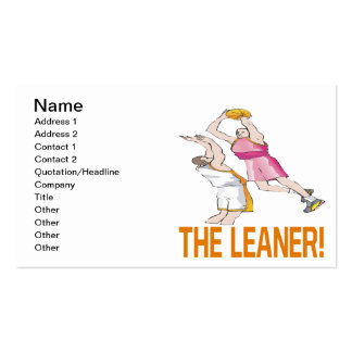 The Leaner Business Cards
