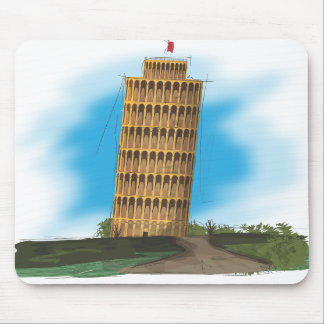 The Leaning Tower of Pisa Mouse Pads