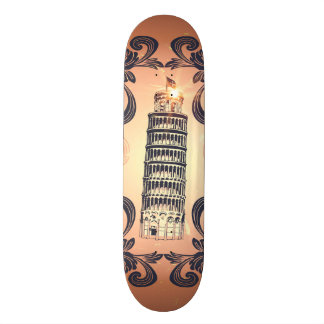 The leaning tower of Pisa Skateboards