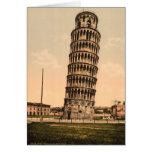 The Leaning Tower of Pisa, Tuscany, Italy Greeting Card