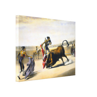 The Leap or Salta Tras Cuernos Gallery Wrapped Canvas
