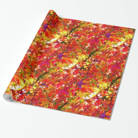 The Leaves of Fall Wrapping Paper