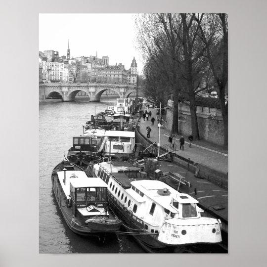 The Left Bank, Paris Poster
