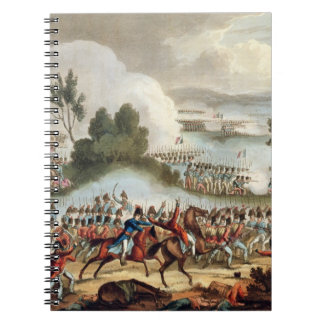 The Left Wing of the British Army in Action at the Spiral Notebook