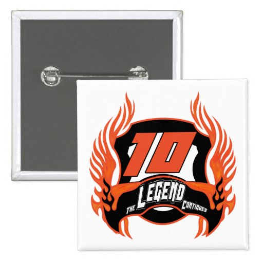 The Legend 10th Birthday Gifts Pinback Button