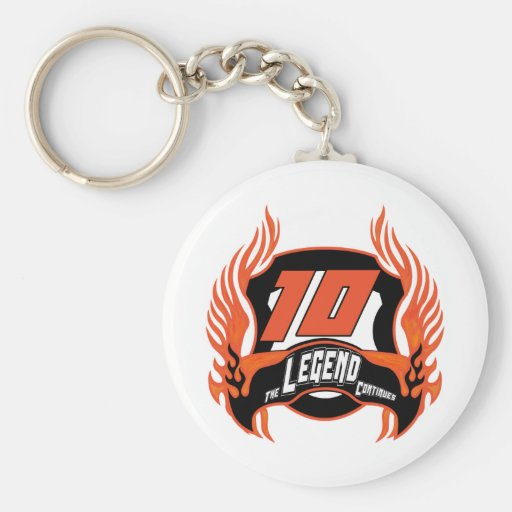 The Legend 10th Birthday Gifts Key Chains