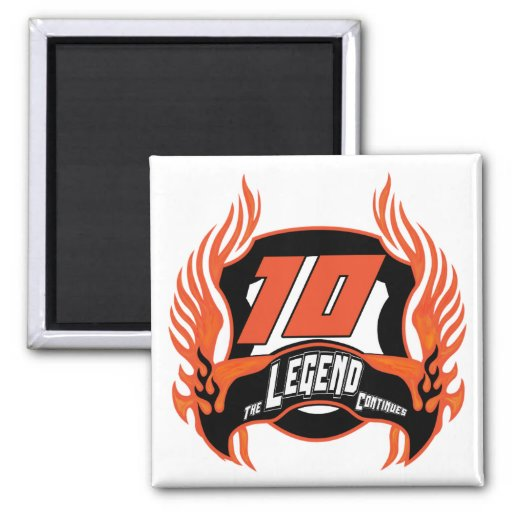 The Legend 10th Birthday Gifts Magnets