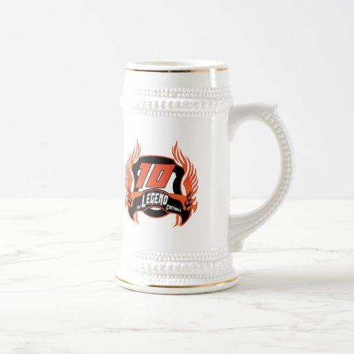 The Legend 10th Birthday Gifts Coffee Mugs