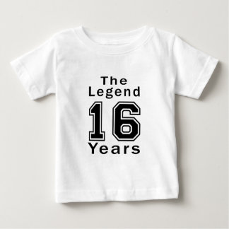 The Legend 16 Years Birthday Gifts T-shirt