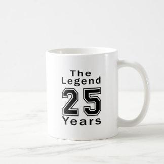 The Legend 25 Years Birthday Gifts Coffee Mugs