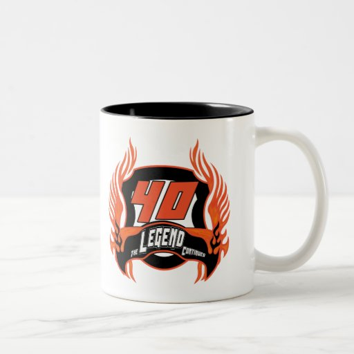 The Legend 40th Birthday Gifts Coffee Mugs