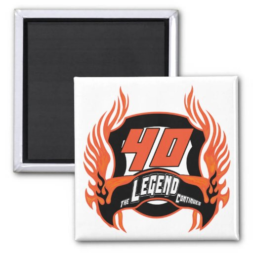 The Legend 40th Birthday Gifts Refrigerator Magnets