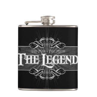 The Legend Hip Flask