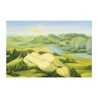 The Legend of Balaton 2003 Canvas Print
