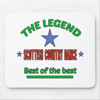 The Legend Of Scottish Country dance Mouse Pad