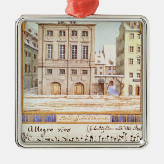 The Leipzig Gewandhaus Christmas Ornament