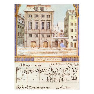 The Leipzig Gewandhaus Postcard