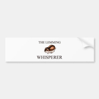 The Lemming Whisperer Bumper Sticker