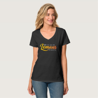 The Lemon Shirt (Black)