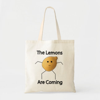 The Lemons are Coming! Tote Bag
