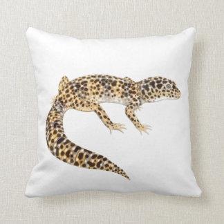 The Leopard Gecko Lizard Pillow