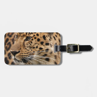 The Leopard Luggage Tag