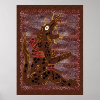 The Leopard Men Print