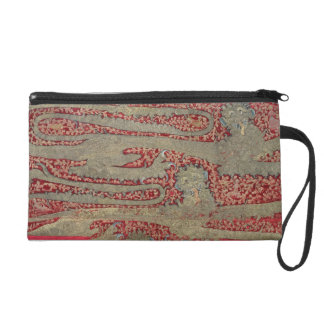 The Leopards of England, 15th century (tapestry) Wristlet Purse