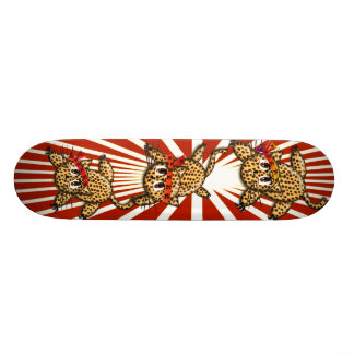 The Leopard's Pride 20 Cm Skateboard Deck