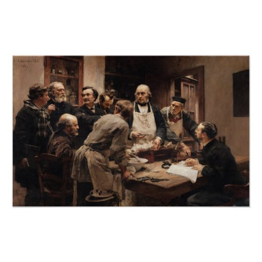 The Lesson of Claude Bernard Print