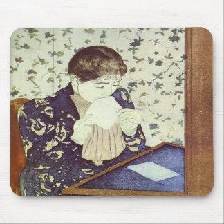 The Letter. 1890-1891, Mary Cassatt Mousepad
