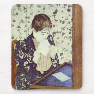 The Letter 1890-1891 Mary Cassatt Mousepad