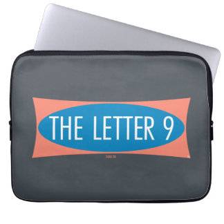 The Letter 9 Laptop Sleeve