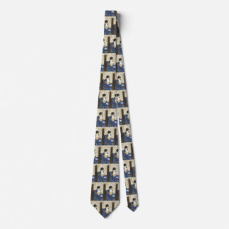 The Letter by Mary Cassatt, Vintage Impressionism Tie