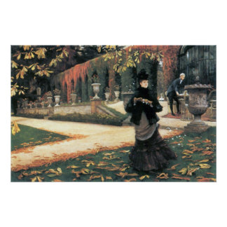 The letter came in handy by James Tissot Poster