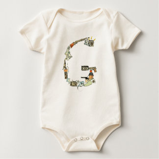 The Letter G Organic Bodysuit