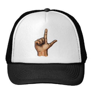 The Letter L Mesh Hats