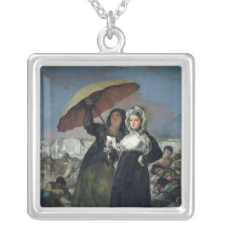 The Letter or, The Young Women, c.1814-19 Silver Plated Necklace