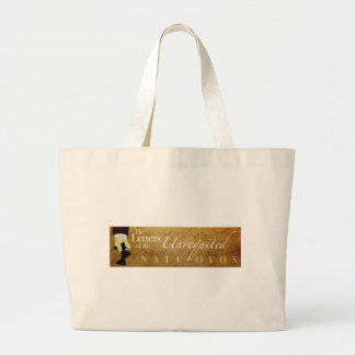 The Letters of the Unrequited Jumbo Tote Bag