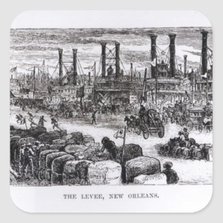 The Levee, New Orleans Square Sticker