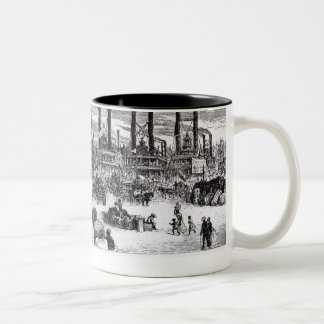The Levee, New Orleans Two-Tone Mug