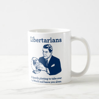 The Libertarian Plot Coffee Mug
